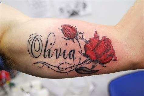 tattoo design around name in style name designs
