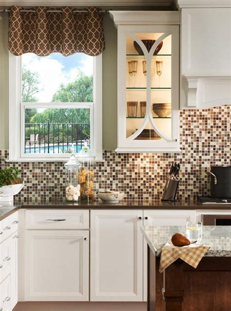 7 and bold diy mosaic kitchen backsplashes shelterness