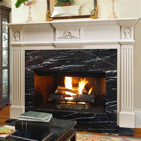 Wood Mantels For Fireplace by Pearl Mantels Florence Wood Fireplace Mantel Surround At