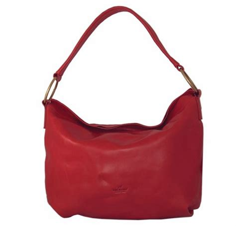 Handmade Leather Purses Uk - auchamo italian leather handbag