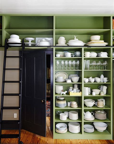 Pantry Green by Farmhouse Interior Design Ideas Home Bunch Interior