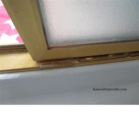 shower door guide how to fix a sliding shower door guide