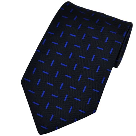 blue patterned ties navy blue bright blue patterned silk tie from ties planet uk