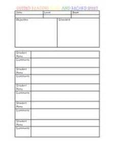 design html form for keeping student record 1000 images about anecdotal records reading conference
