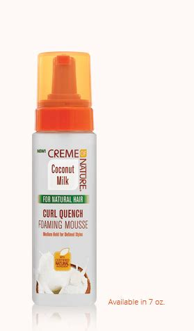 Quench Me Detox by Curl Quench Foaming Mousse Creme Of Nature