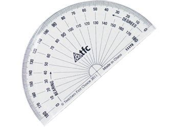 printable protractor cards image gallery life size protractor