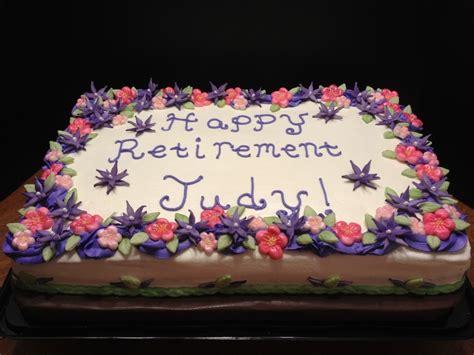 Flower Garden Cake Cake Decorating Flower Garden Retirement Cake Cakecentral