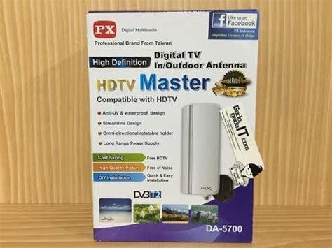 Antena Digital Px Da 5200 Like Da 5700 unboxing antena digital tv indooroutdoor antenna px da