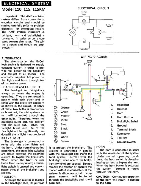 amf harley davidson golf cart wiring diagram wiring
