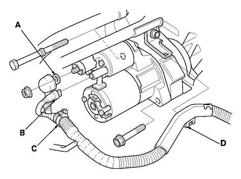 2003 honda element starter i a 2003 honda element 2 4 motor ow do i replace the