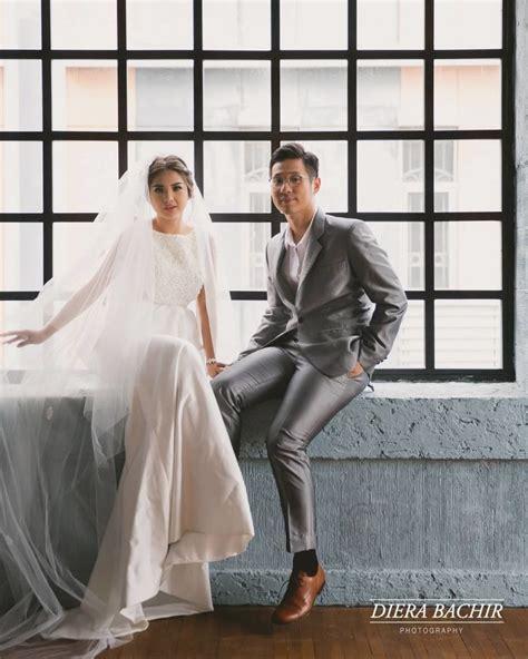 Hasil Foto Pre Wedding Indoor inilah foto prewedding pasangan berawal beda agama yang