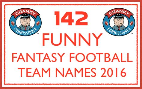 fantasy football league names fantasy football add fun to your league ffl commissioner
