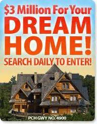 Pch Search And Win Scam - pch dreamhome publishers clearing house pch 3 million dream home sweepstakes