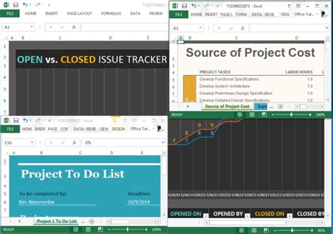 Best Project Management Templates For Excel Best Free Project Management Excel Templates