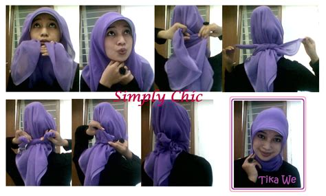 tutorial hijab paris elegan tutorial jilbab paris 3 elegante wara wiri tika we