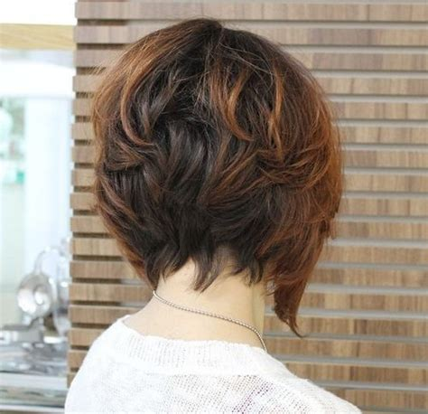 black short hair styles stacked freeze curls flips 50 cute and easy to style short layered hairstyles