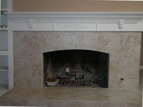 Rustic Brick Fireplace Mantel All Home Decorations Brick Fireplace Mantel Ideas