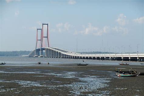 design jembatan suramadu bridge wikipedia