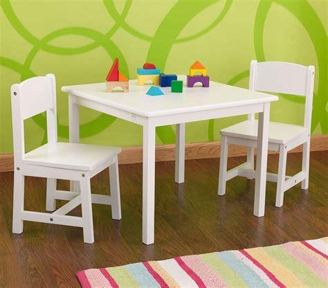 table chaises enfants table et chaises enfant en bois blanc