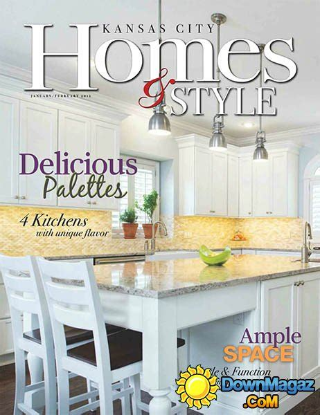 kansas city home design magazine kansas city homes style january february 2015