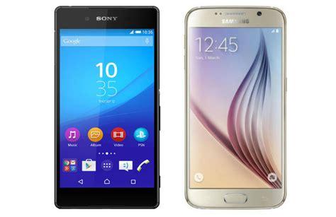Samsung S6 Vs Sony Z4 specs showdown sony xperia z4 vs samsung galaxy s6
