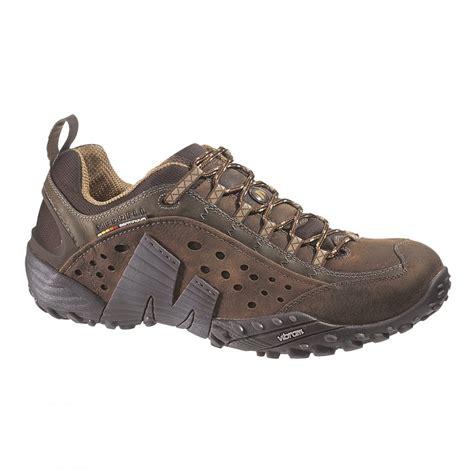merrell mens intercept brown marshall shoes