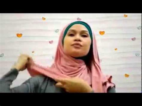 tutorial memakai jilbab pashmina youtube tutorial cara memakai jilbab pashmina kaos kasual