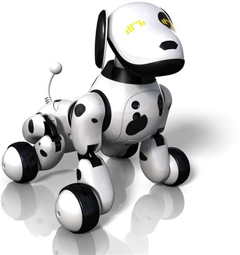 robot puppy zoomer a robot puppy that s just like the real thing