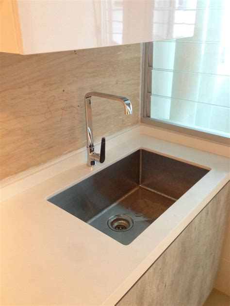 Kitchen Sink Renovation by Kitchen Sink And Tap Intradesign My Bto Hdb Home