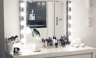 Vanity Makeup Mirror With Light Bulbs My New Make Up Vanity Lily Like
