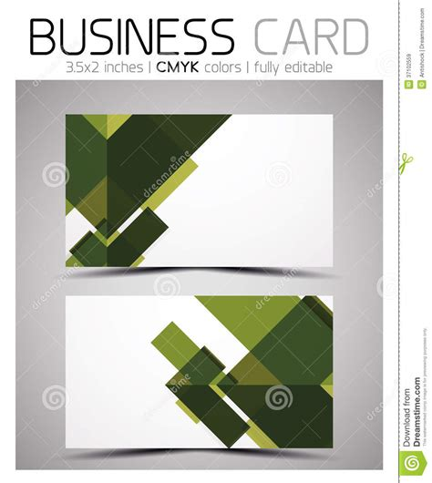 business card shapes templates vector cmyk business card design template royalty free