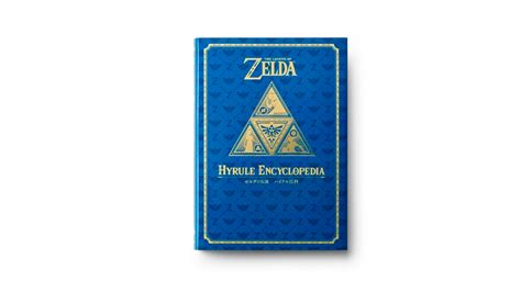 libro legend of zelda encyclopedia as 237 es la hyrule encyclopedia el libro que celebra el 30 aniversario de the legend of zelda