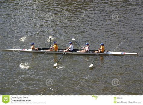 boat oars melbourne rowing on the yarra river stock image image of racing