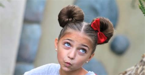 cute hairstyles disney minnie mouse hairstyle hairdo how to