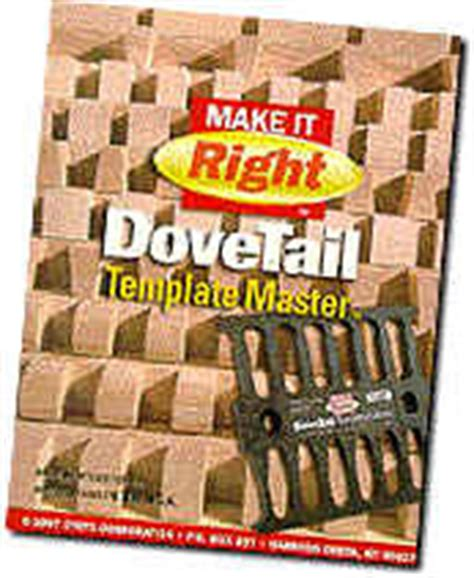 dovetail template master the dovetail joint tool