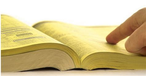 Yellow Book Lookup Say What Printed Yellow Pages Still Dominate Local Marketing Solutions For