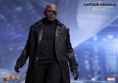 Toys Nick Fury The Winter Soldier Misb toys 1 6th scale nick fury plastic and plush
