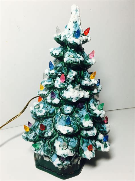 vintage ceramic christmas tree l