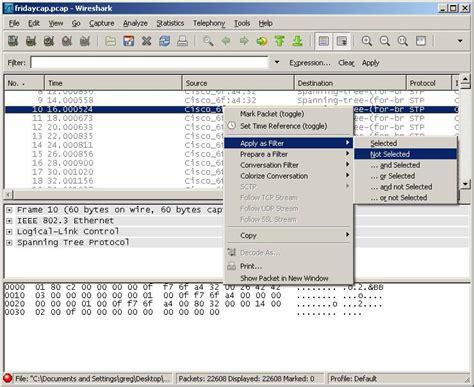 tutorial wireshark mac quick filtering in wireshark greg sowell consulting