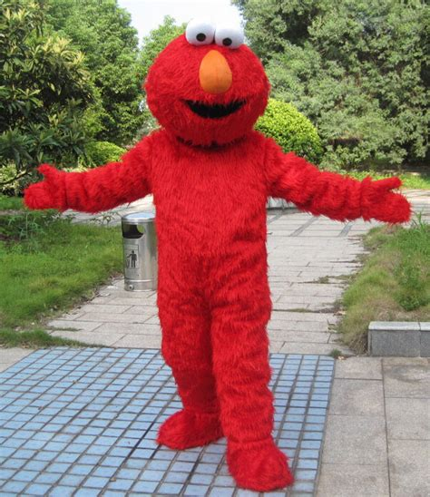 popular elmo mascot costume buy cheap elmo mascot costume lots from china elmo mascot costume