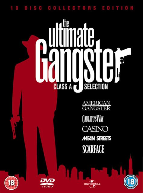 gangster film extras universal ultimate gangster collection in october