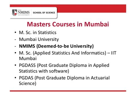 Mba Or Actuarial Science by Master Of Science In Statistics
