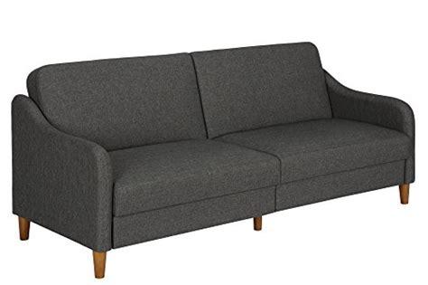 multi position futon dhp jasper linen upholstered coil futon multi position