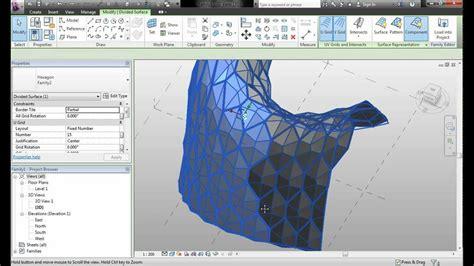 tutorial revit estructura revit 2013 panel hexagonal superficie youtube