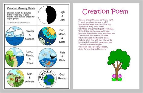 Themes In The Creation Story | free coloring pages of 6th day creation