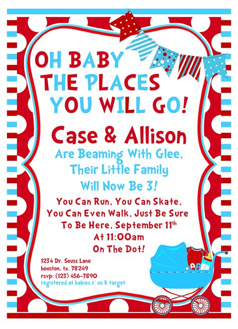 dr seuss invitation template free 8 best images of free printable dr seuss baby shower dr