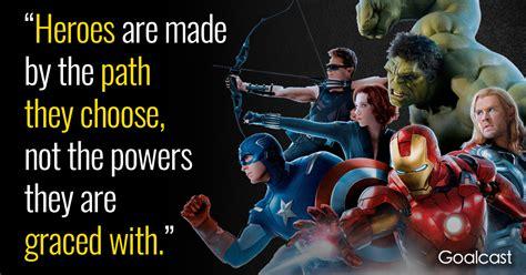 marvel iron man quote heroes path