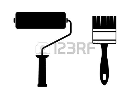 paint roller brush vector www pixshark images galleries with a bite