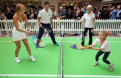 westfield west holden amanda holden recreates athena tennis bum photo at