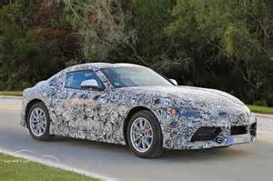 Supra Tail Lights 2018 2019 Toyota Supra Prototype Reveals Production Intent
